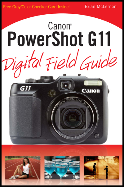 Canon G11 Digital Field Guide cover