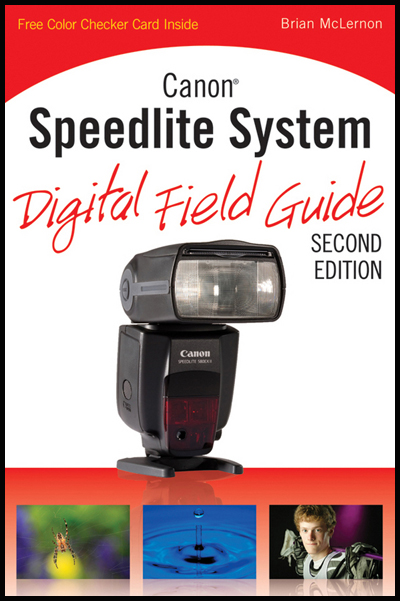 Canon Speedlite System Digital Field Guide cover